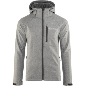 Columbia Cascade Ridge II Softshell Jacket Men Charcoal Heather